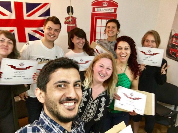 learn english in london students telc uk academy